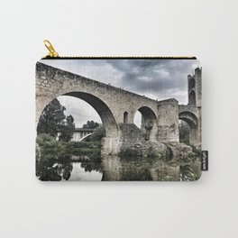 The Bridge of Besalu Carry-All Pouch