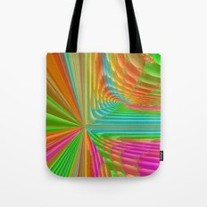 Abstract 359 a dynamic fractal Tote Bag