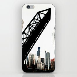 obstructed iPhone Skin