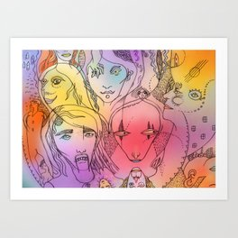 Song One Art Print