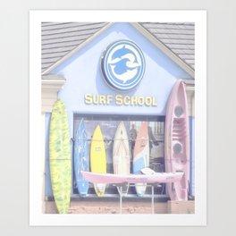 """Surf Shop"" by Murray Bolesta Art Print"
