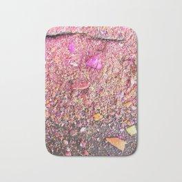 Chalk Dust Confetti Pinkish Bath Mat