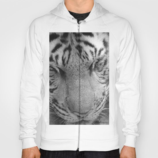 Le Tigre Pendant Sa Sieste Hoody