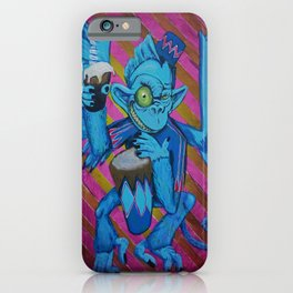 Chris' Flying Monkey iPhone Case