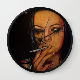 Breakable Girl (VIDEO IN DESCRIPTION!) Wall Clock