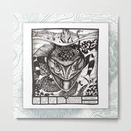 06 TASTY Maptober 2019 Metal Print
