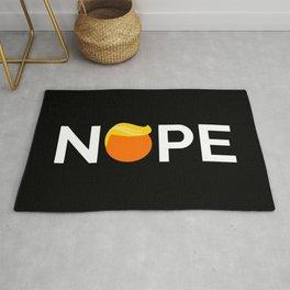 Anti-Trump - Nope Edition Rug
