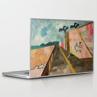 transparent Laptop & iPad Skins featuring TRANSPARENT WALLS by Matt Schiermeier