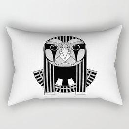 Horus the Ancient Egyptian God of the Sun and Sky Rectangular Pillow