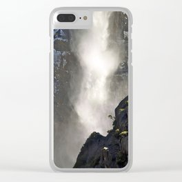 Power of Yosemite Falls Clear iPhone Case