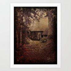Granny's House Art Print