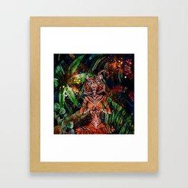 Mystic Tigress Framed Art Print