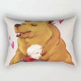 APH: 2pBear hug Rectangular Pillow