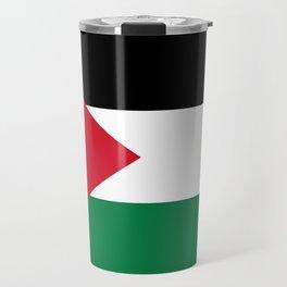 Flag of Palestine Travel Mug