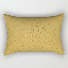 Champagne Fizz Bubble Explosion Rectangular Pillow