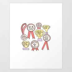 Little Victories Art Print