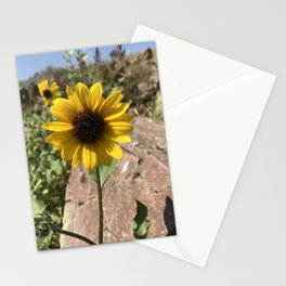 Yellow Beauty Stationery Cards