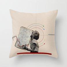 Themes of Colour Throw Pillow