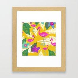 Flamingo Fantasy Framed Art Print