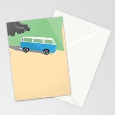 Dharma Van vs Smoke Monster Stationery Cards