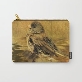 The Bathing Junco Carry-All Pouch