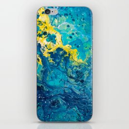 Waves from Space iPhone Skin