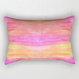 River flows Rectangular Pillow