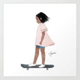 New in Town Art Print