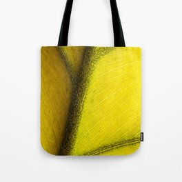 yellowed Tote Bag