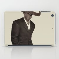 dragon age inquisition iPad Cases featuring The Iron Bull - Dragon Age Inquisition by maltairs