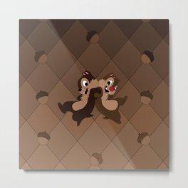 Chipmunks Metal Print