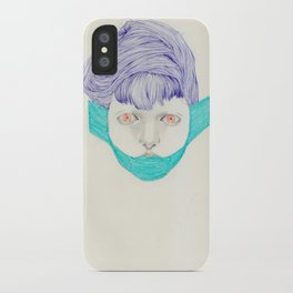 Untitled Head iPhone Case
