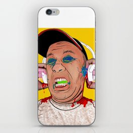 Punctured Ears iPhone Skin