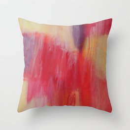The Painted. Throw Pillow