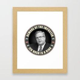 Jeb Bush Is A RINO Framed Art Print