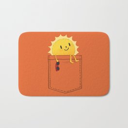 Pocketful of sunshine Bath Mat