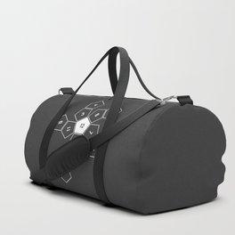 Grey Unrolled D12 Duffle Bag