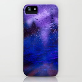 Stormy Night Drive iPhone Case