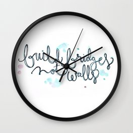 Bridges Wall Clock