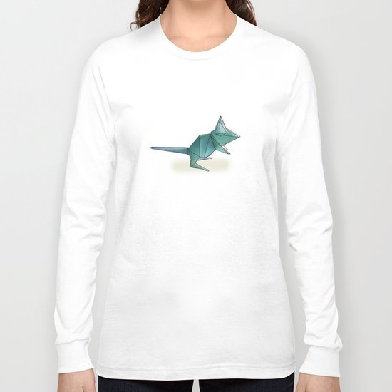 paper mouse Long Sleeve T-shirt