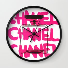 Channel Parfum Wall Clock