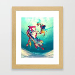 The Hero & the Prince Framed Art Print