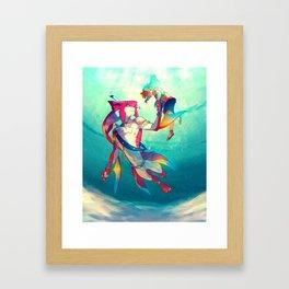 The Hero & the Prince Framed Art Print
