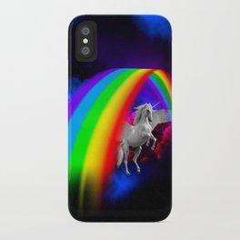 Unicorn & Rainbow iPhone Case