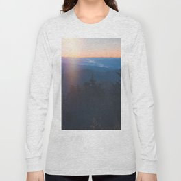 Sunrise in Smoky Mountains National Park Long Sleeve T-shirt