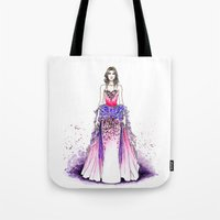 sparkle Tote Bags featuring Sparkle by Tania Santos