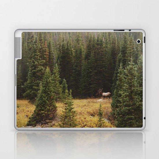 Rocky Mountain Creek Elk Laptop & iPad Skin