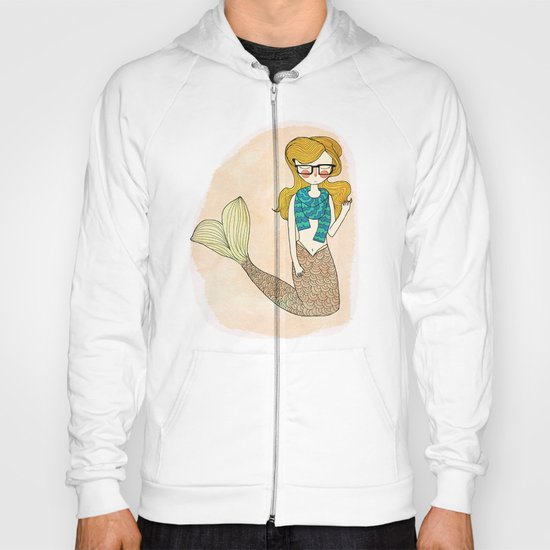 Hipster Mermaid Hoody