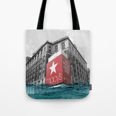 Macy's water line Tote Bag