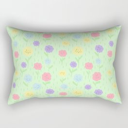 flowerpastel Rectangular Pillow